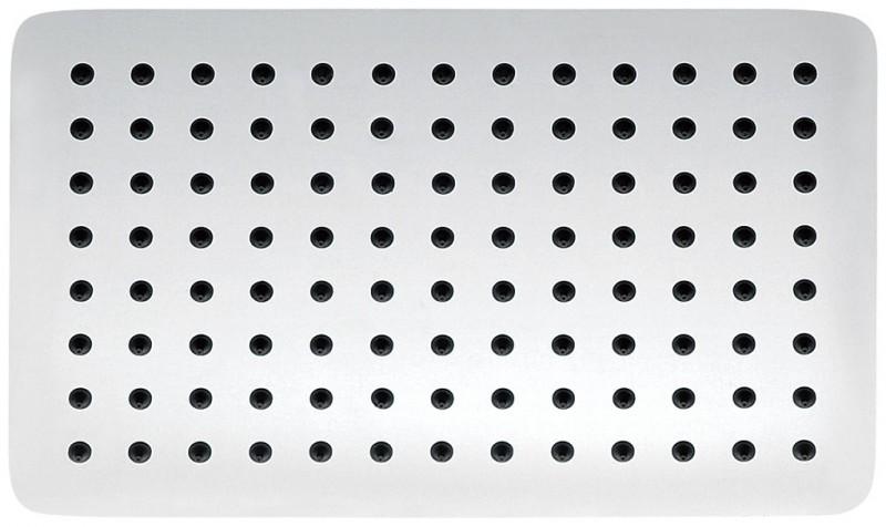 Tête de douche BERNSTEIN DE LUXE en laiton massif chromé, rectangulaire DPG2011 - 30x20cm – Bild 1