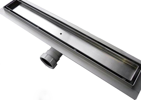 Stainless steel shower channel GT01 - for floor- level showers - selectable lengths – Bild 1