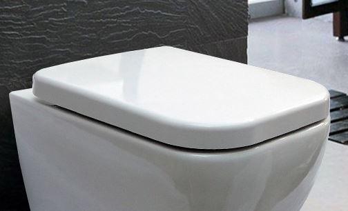 WC Deckel Duroplast WC Sitz Ersatzdeckel für WC CH101 und 101R – Bild 1