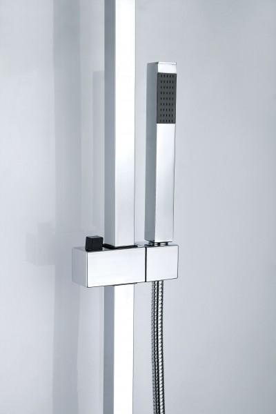 Design-Duschsystem Duschsäule SEDAL-Thermostat 8921C Basic (ohne Regendusche) – Bild 3