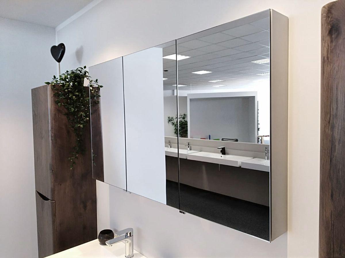 Aluminium-Spiegelschrank G1200 – Bild 1