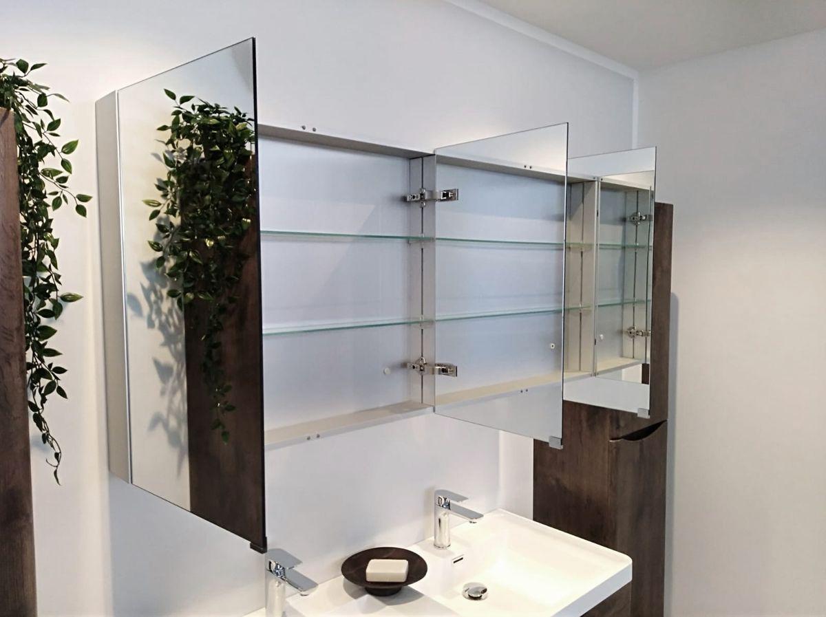 Aluminium-Spiegelschrank G1200 – Bild 2
