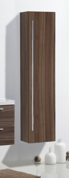 Bathroom furniture set R1200, dark walnut - Mirror, mirror cabinet and wall-mounted cabinet optional – Bild 9