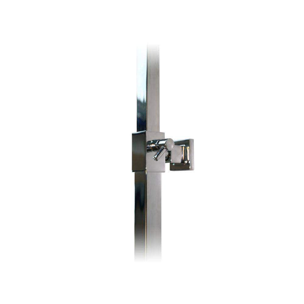 Design Shower column 3011 BASIC - mit including hand shower - thermostatic shower panel - shower head optional – Bild 11