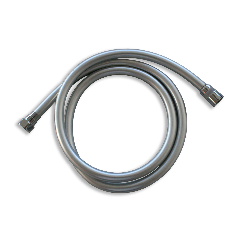 Flexibler Brauseschlauch 1010C - 1,5 m - Metalleffekt