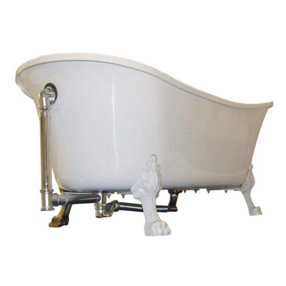 Freestanding Bathtub PARIS PREMIUM GOLD - 175 x 74 cm – Bild 6