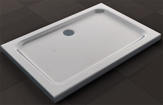 Shower cabin U-shape EX412 - genuine glass - 8mm safety NANO glass - 120 x 80 x 195cm - incl. shower tray – Bild 7