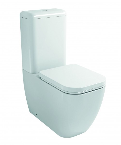 One piece WC CT101 - floor standing - with soft close seat – Bild 1