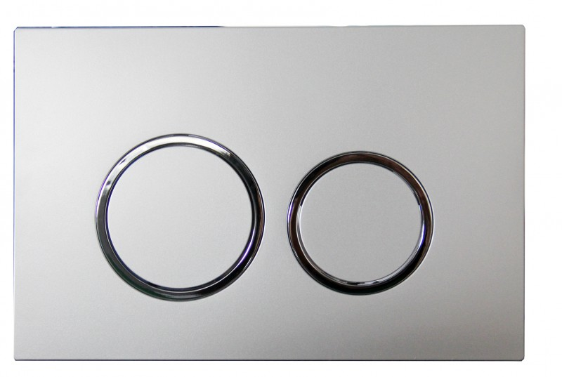 Support frame G3005 with satin flush plate – Bild 3