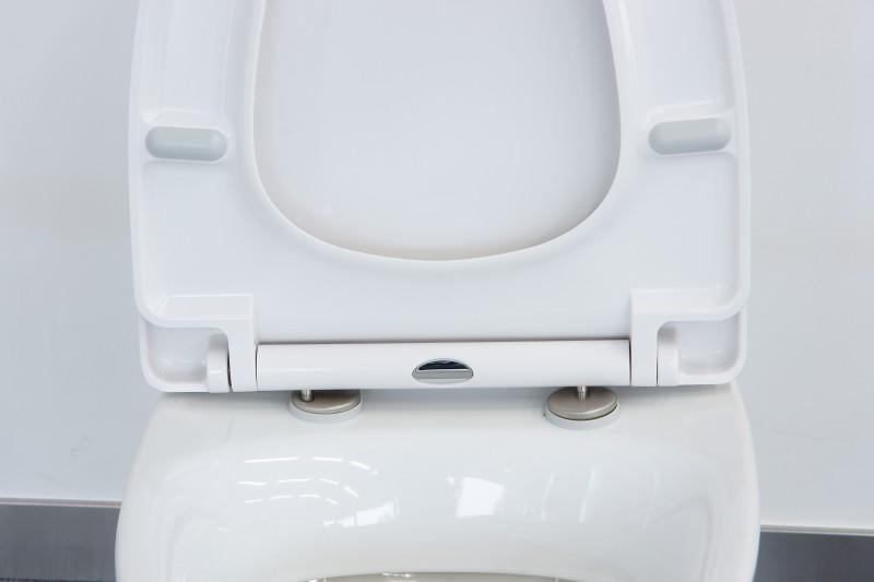 WC-Deckel Softclose WC-Sitz Ersatzdeckel U1004 - passend für Standard-WCs – Bild 6