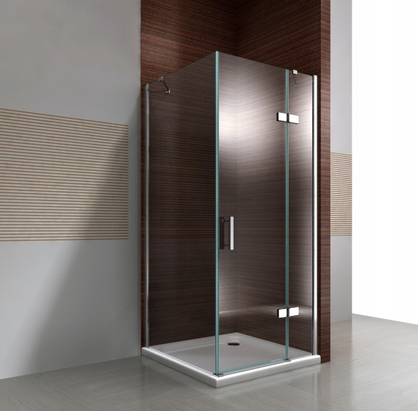 Corner shower enclosure with NANO coating - transparent glass 8 mm - DX403 - available in different sizes