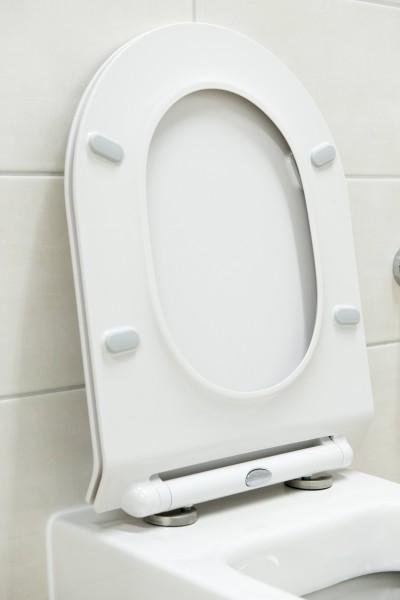 Flacher WC-Deckel Softclose WC-Sitz Ersatzdeckel U2019 - passend für BERNSTEIN WCs (CH1088/1088R/NT2019/NT2039/CT1088/CT1099/B-8030) – Bild 2