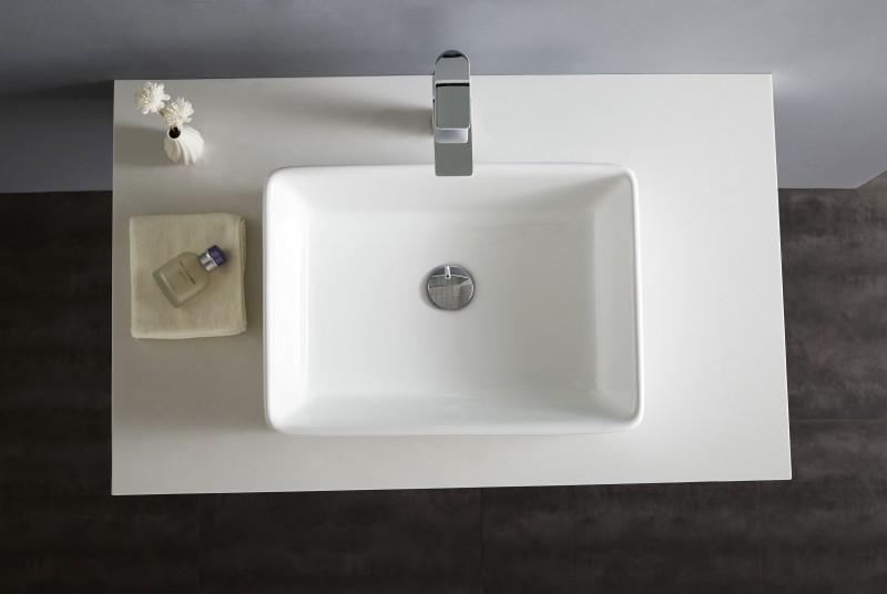 Aufsatzbecken Aufsatz-Waschbecken NT3153 - Badkeramik - 52x38cm – Bild 5