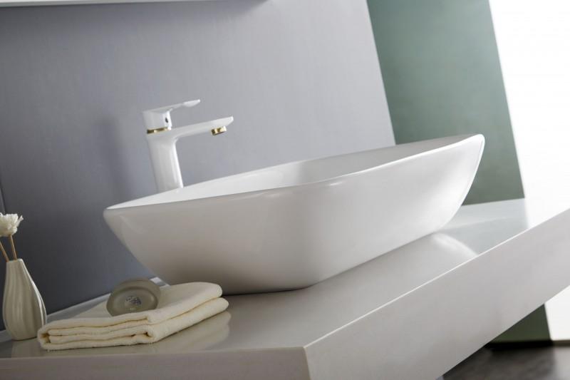Top basin countertop basin NT3155 - ceramic - 58 x 38,5 cm – Bild 7