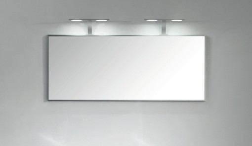 Badmöbel-Set R1600 Weiß - Spiegel optional wählbar – Bild 5