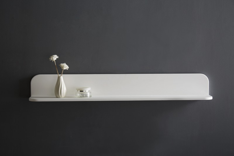 Wall shelf for bathroom PB4202 - mineral casting - 90x12x12 cm