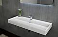 Wandwaschbecken Aufsatzwaschbecken BS6001 - Breite wählbar