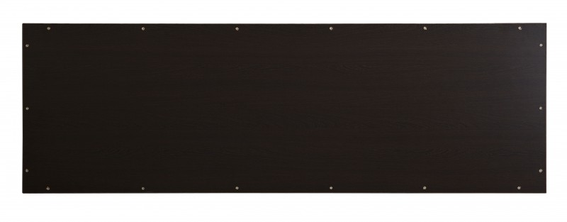 Wall-hung countertop SMART-Line - made from MFC - wenge - with optional brackets – Bild 4