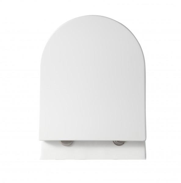 WC-Deckel Softclose WC-Sitz Ersatzdeckel U1009 - passend für BERNSTEIN WC NT2038 – Bild 1