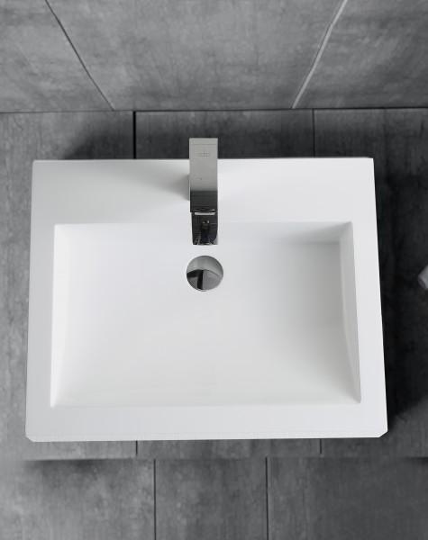 Wandwaschbecken Aufsatzwaschbecken BS6049 60 x 48 x 14cm  – Bild 4