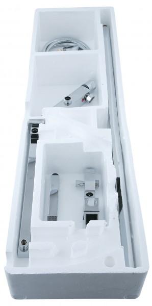 Design-Duschsystem Duschsäule Thermostat 8821C Basic - Auswahl Duschkopf eckig – Bild 5
