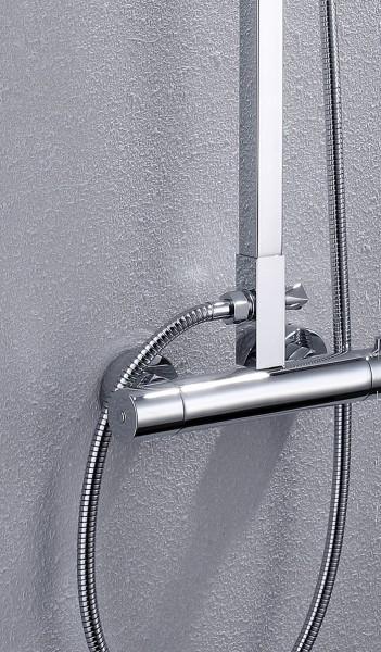Shower system - thermostat shower panel 8821C Basic - rain shower selectable – Bild 3