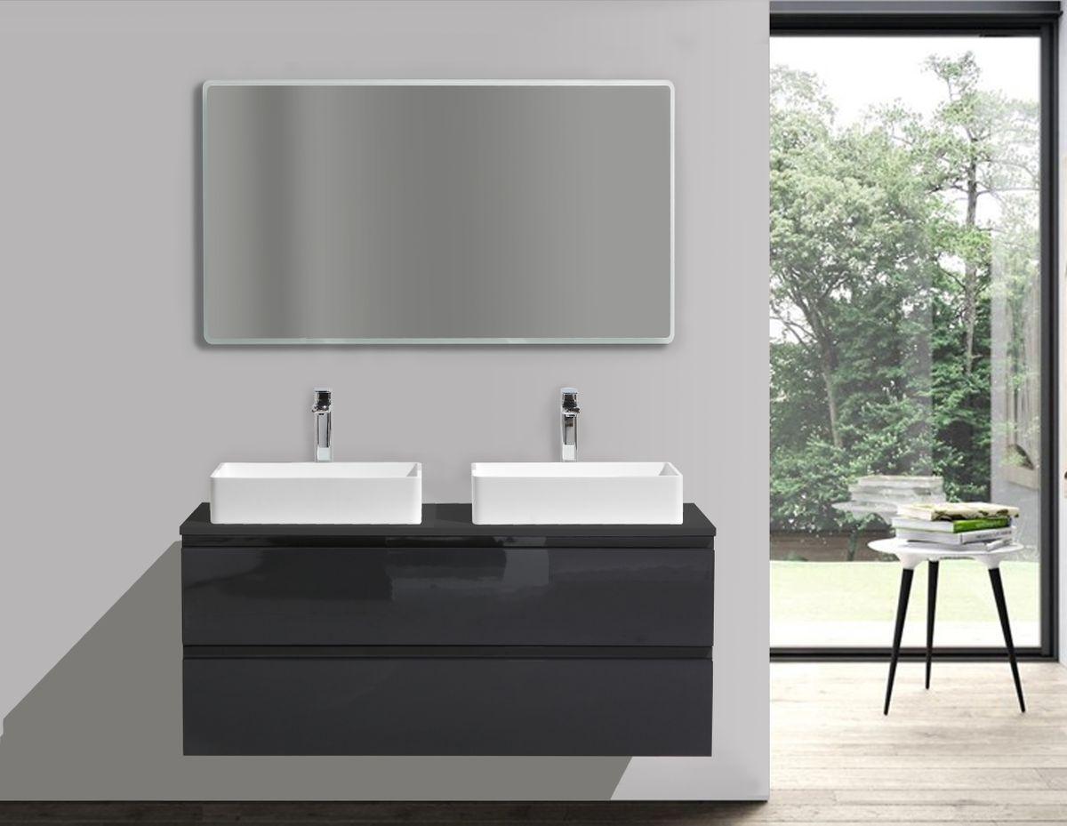 Ensemble LUXX 1200 noir - miroir en option – Bild 1