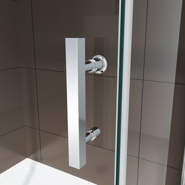 Shower enclosure with sliding door DX806A - tempered genuine NANO glass 6mm - different widths available – Bild 4