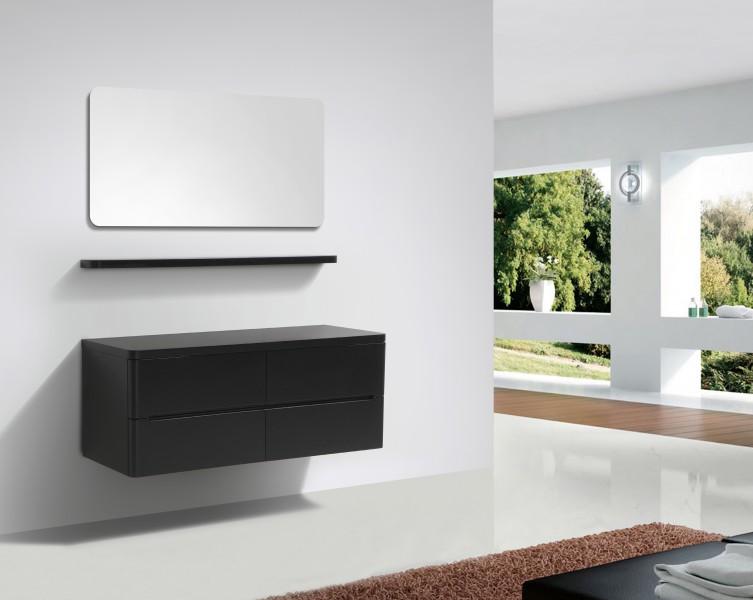 badmobel schwarz, badmöbel serie happy 1400 schwarz matt badewelt badmöbel badmöbel, Design ideen