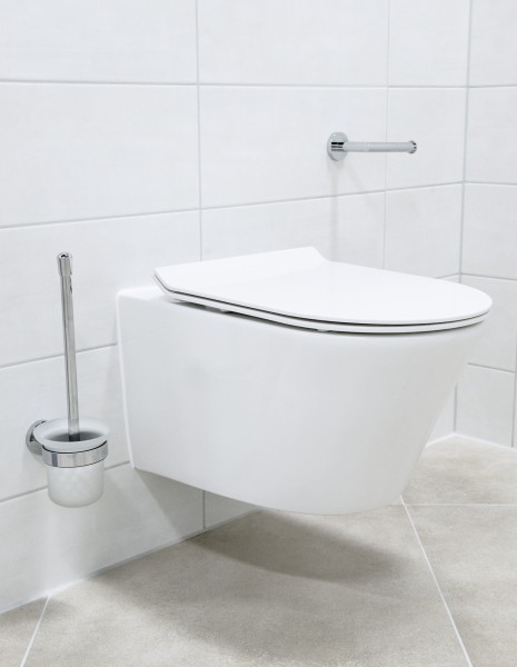 Hung WC without flange 1088R - Soft close seat included – Bild 5