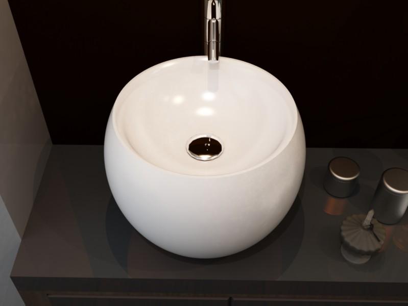Aufsatzwaschbecken aus Mineralguss NT-292 WILSON - Pure Acrylic