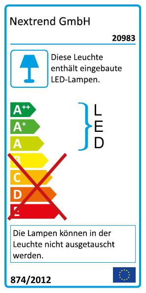 LED-Spiegellicht Leuchte ML020 als Wand- oder Aufsatzmontage - Breite 40cm / 60cm / 74cm – Bild 10