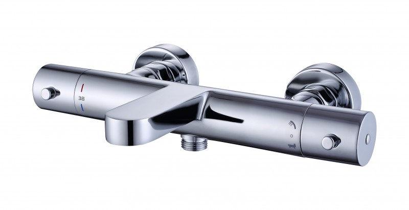 Rubinetto Per Vasca Da Bagno Prezzi : Miscelatore termostatico per doccia o vasca con valvola
