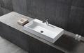 Wandwaschbecken Aufsatzwaschbecken TWG12 aus Mineralguss Pure Acrylic - 90 x 45 x 11 cm
