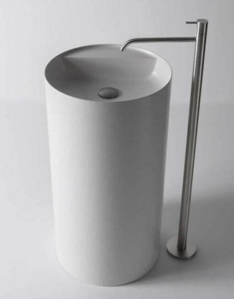 Standwaschbecken TWZ65 aus Mineralguss Solid Stone - 45 x 45 x 85 cm – Bild 1