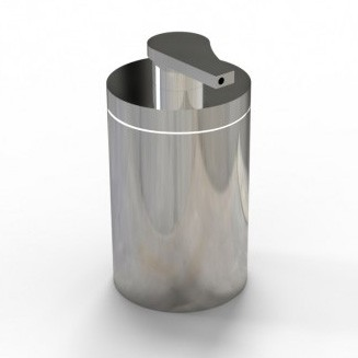 Soap dispenser SDVSS high-quality stainless steel - Collection VERSA – Bild 1