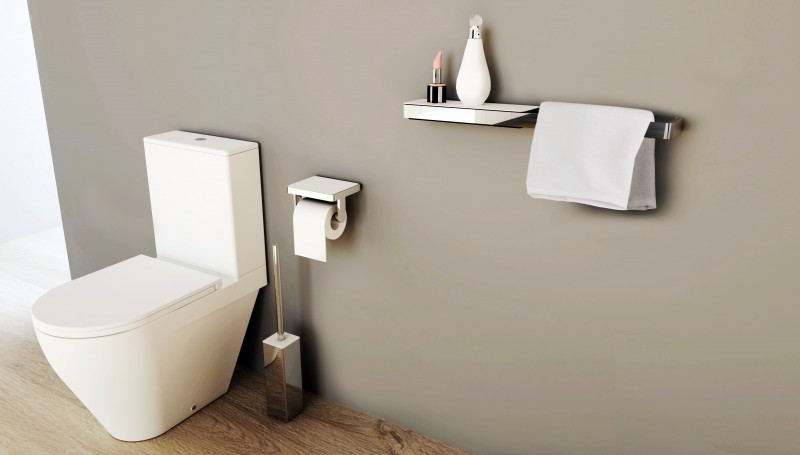 High-quality shelf SDLA - to combine with the towel rack SDLHH45 and SDLHH60 – Bild 2