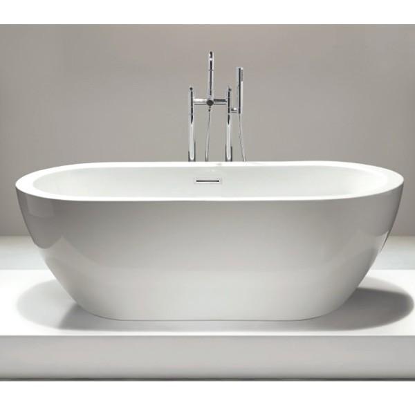 Vasca da bagno freestanding JAZZ - bianco - 173 x 78 cm ...