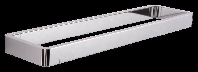 Porte-serviettes de luxe SDLHH45 - Série LINEAR - verre à brosse à dents / distributeur de savon / tablette en option