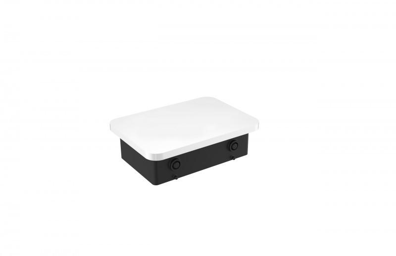Porte-serviettes de luxe SDLHH60 - Série LINEAR - verre à brosse à dents / distributeur de savon / tablette en option – Bild 9