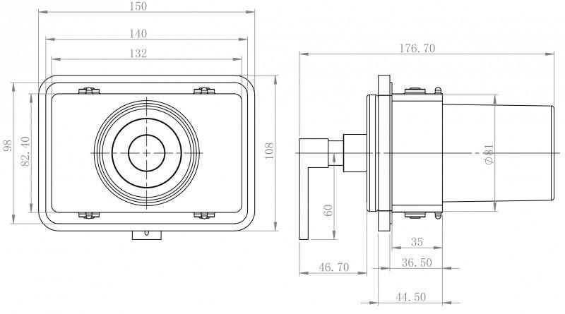 Hochwertiger Handtuchhalter SDLHH60 - Serie LINEAR - chrom - Zahnputzbecher / Seifenspender / Ablage optional – Bild 8