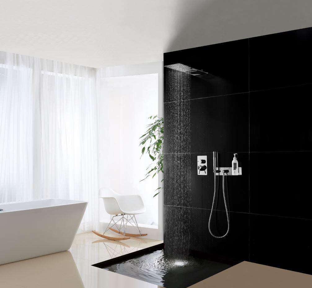 wandanschlussbogen czt050 1 mit brausehalterung inkl brauseschlauch handbrause badewelt. Black Bedroom Furniture Sets. Home Design Ideas