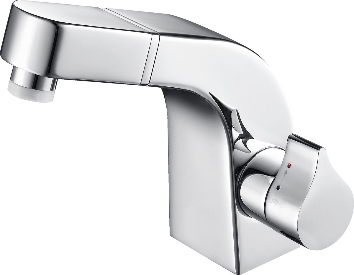 Wash basin mixer NT7060 with pull-out shower head – Bild 2