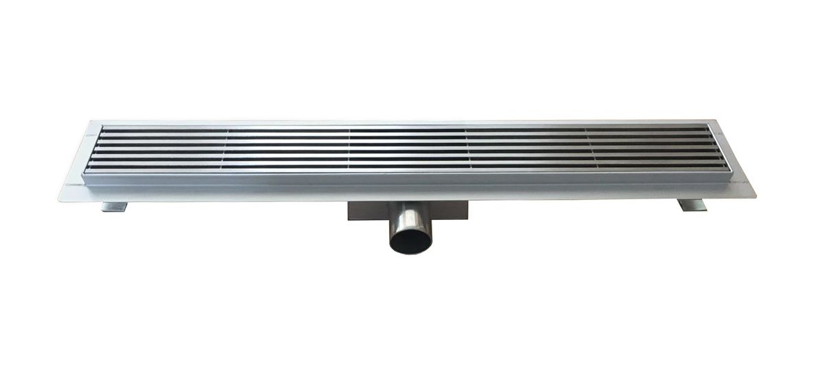 Stainless steel shower drain H01 - high speed - for walk-in shower - selectable lengths – Bild 2