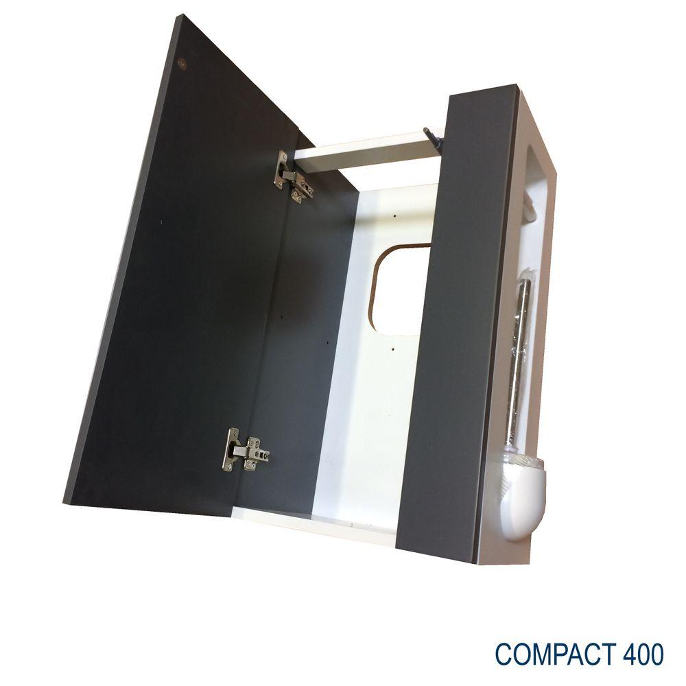 Bathroom furniture set  Compact 400  - anthracite matte – Bild 7