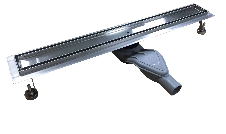 Edelstahl Duschrinne FlexGT01 für Duschkabine befliesbar - Länge wählbar