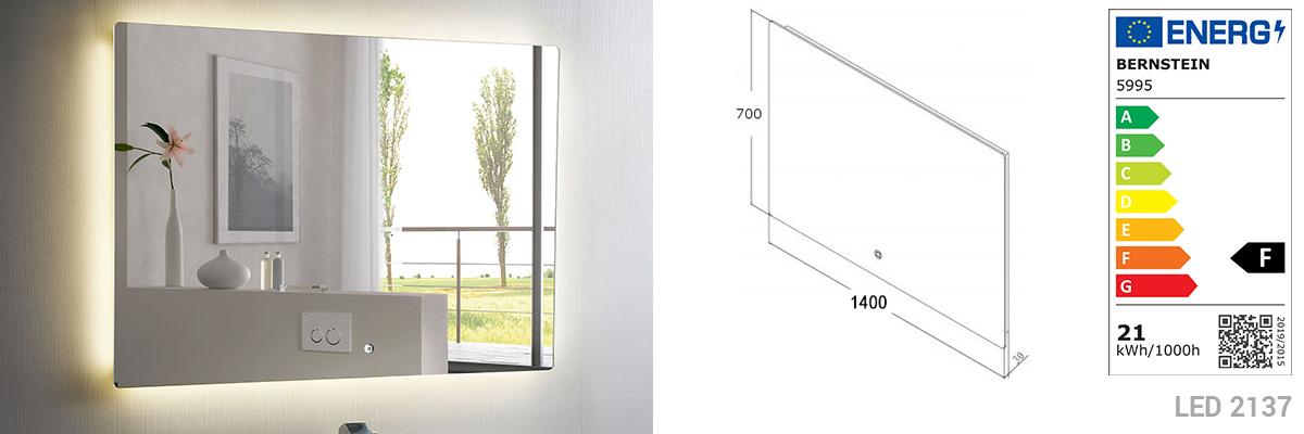 Badmöbel Milou 1400 Weiß matt - Spiegel und Aufsatzwaschbecken optional – Bild 9