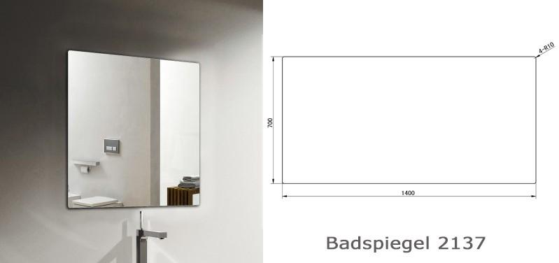 Conjunto de baño Milou 1400 marrón gris - espejo y lavabo opcionales – Bild 11