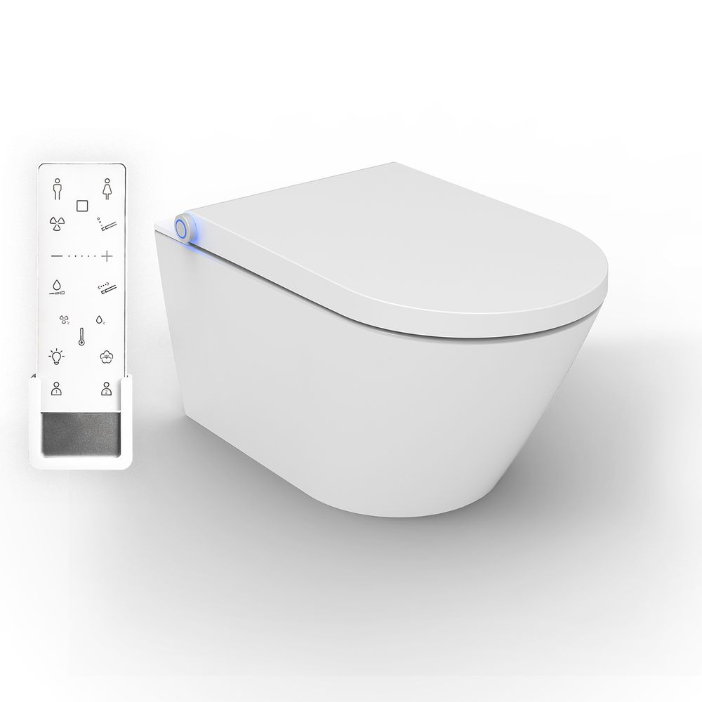 BERNSTEIN DUSCH-WC PRO+ 1102 Shower Toilet with integrated bidet function - white - rimless - japanese WC – Bild 1