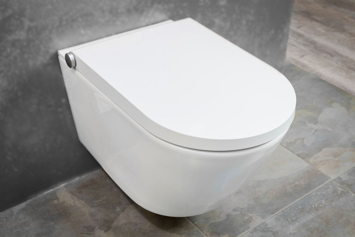 BERNSTEIN DUSCH-WC PRO+ 1102 Shower Toilet with integrated bidet function - white - rimless - japanese WC – Bild 2